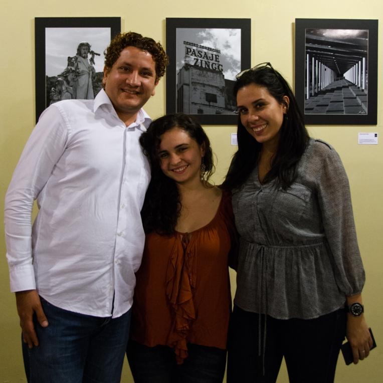 Vicente Marsella, Verónica Pedraza Díaz y Desireé Fernández