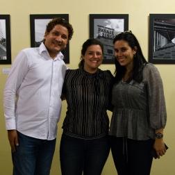 Vicente Marsella, Ángela León Cervera y Desireé Fernández
